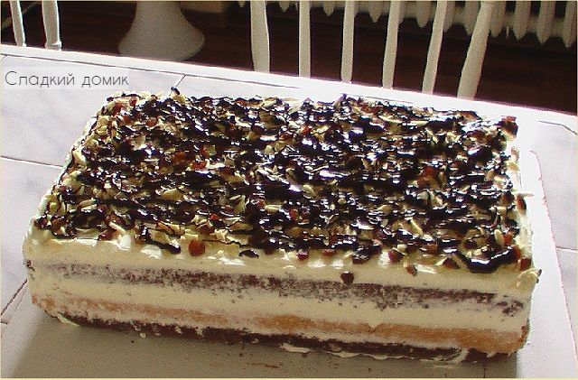 Торт три богатыря рецепт с фото