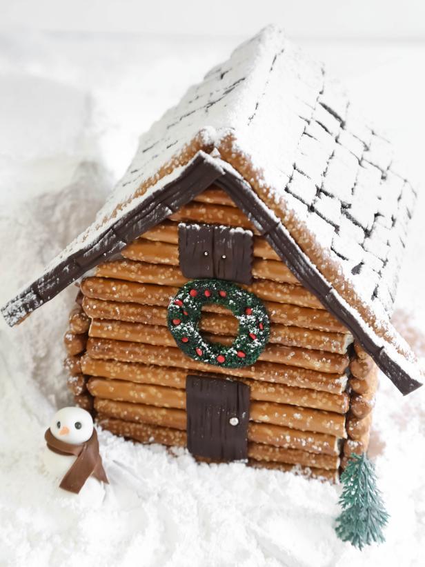 Вкусный пряничный домик