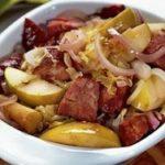 Рецепт мясо свинины в духовке с яблоками