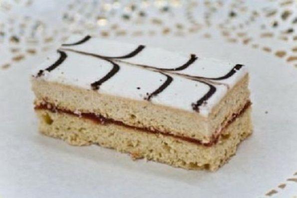 Рецепт школьного пирожного