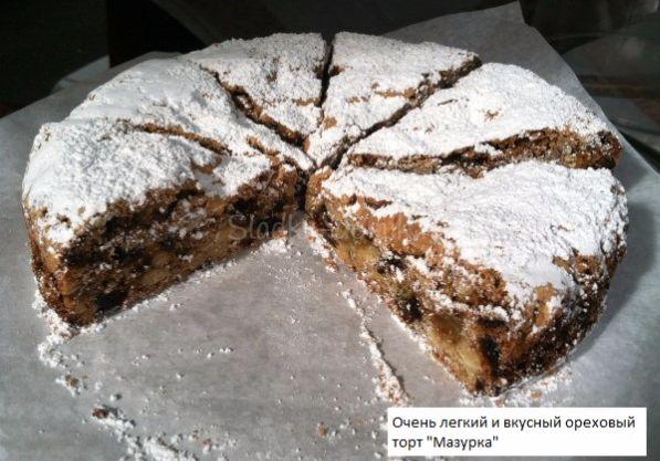 Торт Мазурка