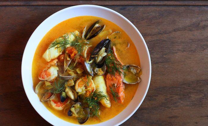 Буйабес классический с морепродуктами