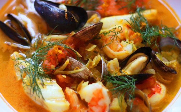 Буйабес классический суп