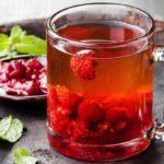 Витаминный чай рецепт с клюквой и малиной