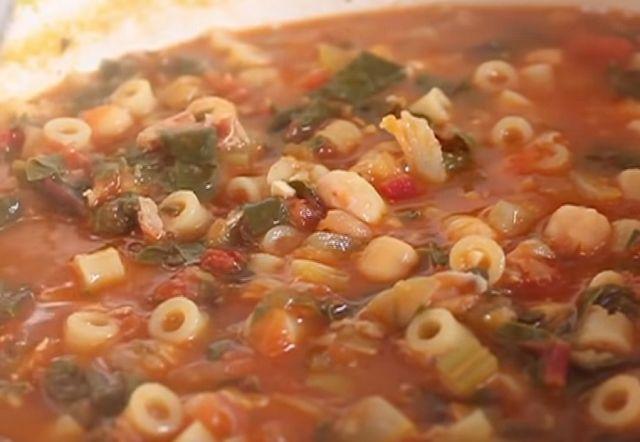 Итальянский суп очень простой