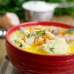 Куриный суп с клецками домашний рецепт