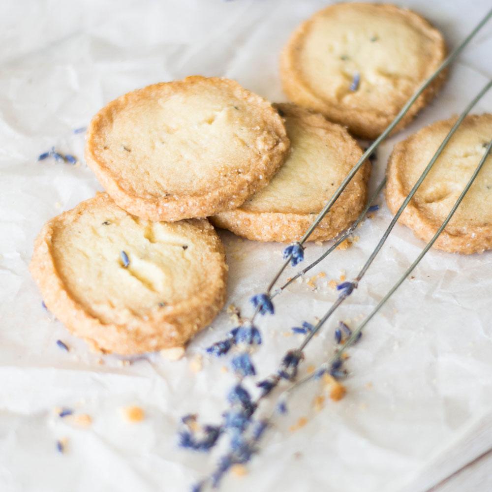 Печенье из лаванды
