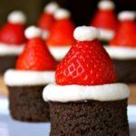 Новогодний десерт «Шапка Санты»