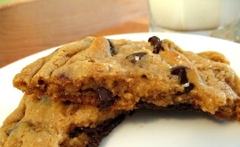 Печенье с кусочками шоколада быстрый рецепт