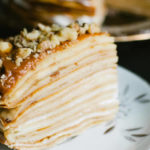 Сладкий блинный торт рецепт с фото — банановый!
