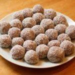 Шарики ореховые — сладости для взрослых