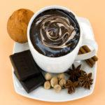 Шоколадный напиток с кардамоном