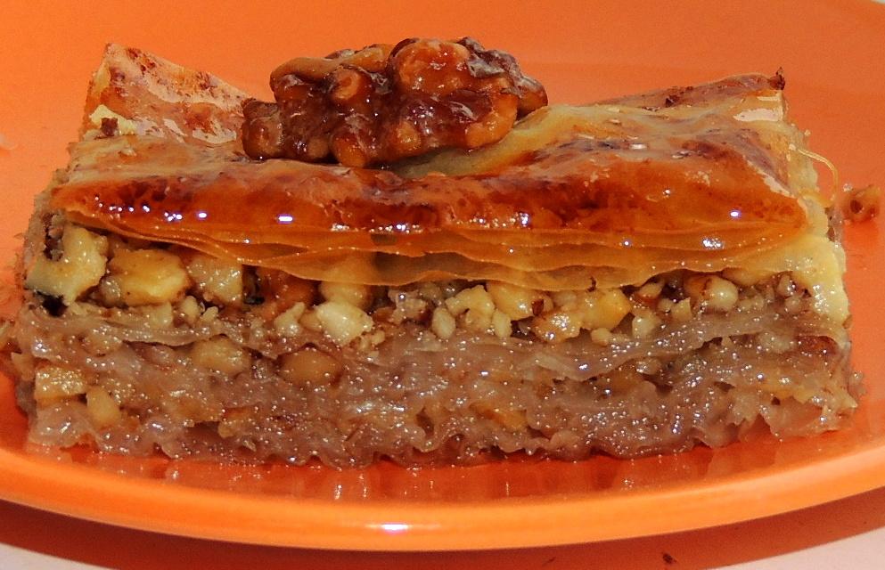 Рецепт пахлавы с орехами