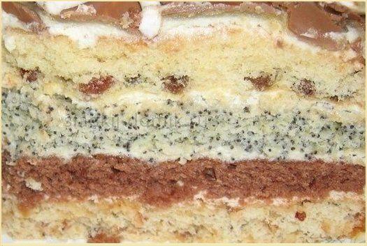 Рецепт торта 3 встречи