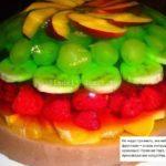 Торт желе без выпечки рецепт с фото