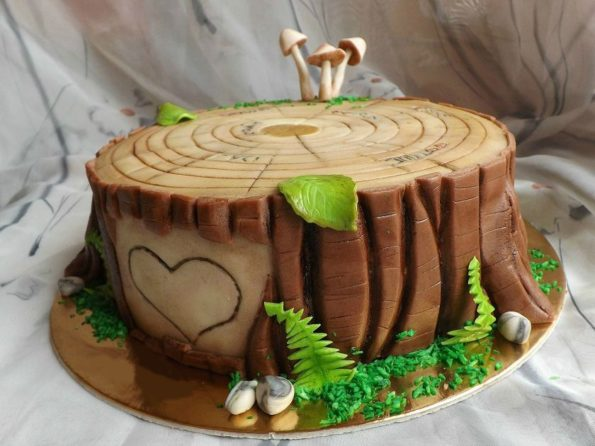 Как украсить торт из мастики - способ 1