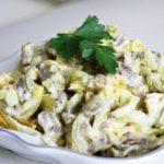 Мясной салат с говядиной — «Лариса»