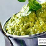 Пюре из зеленого горошка замороженного с картофелем