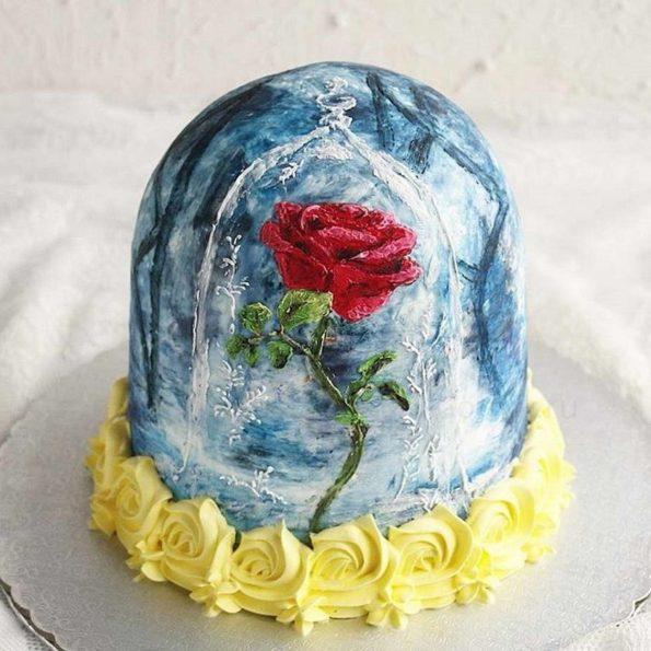 Торт украшенный мастикой фото