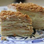 Торт наполеон советский рецепт