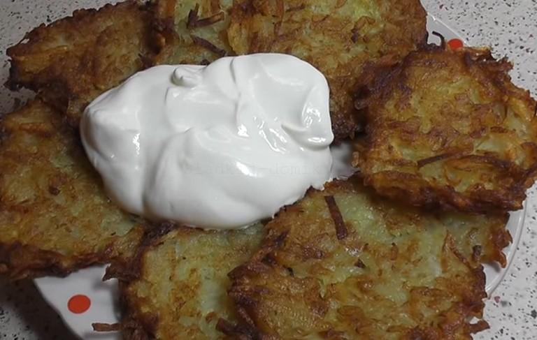 Картофельные драники классические