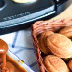 Рецепт печенья орешки в форме на газу с фото