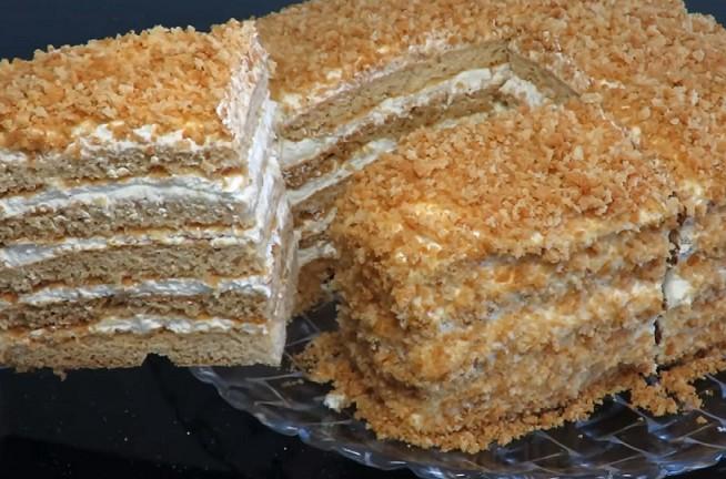 Классический торт медовик рецепт