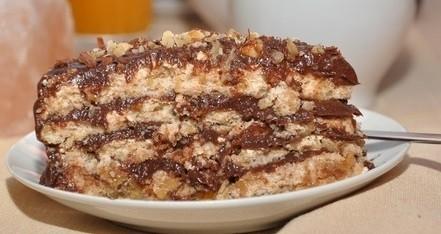 Торт негр в мыле