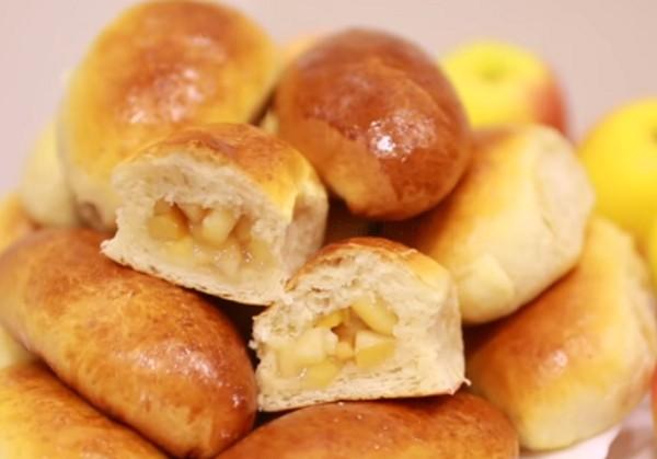 Пирожки рецепт с яблоками