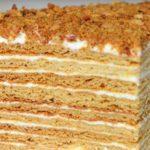 Рецепт торта медовик в домашних условиях пошагово (Рыжик)