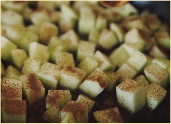 Топинг яблочный для панкейков