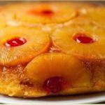Ананасовый пирог «Перевёртыш»