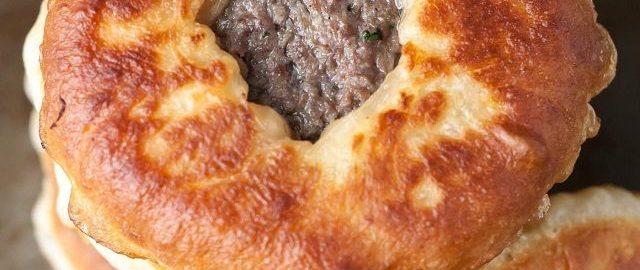 Рецепт беляшей с мясом