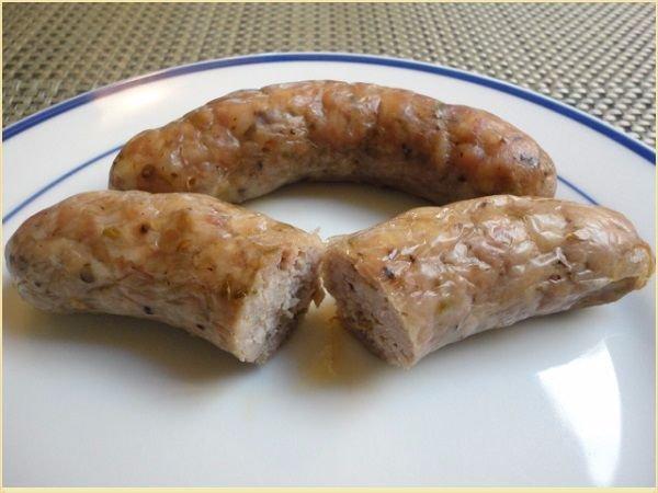 Домашняя колбаса из курицы с фото
