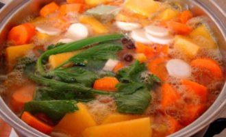 Тыквенный суп пюре - варим до готовности