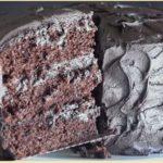 Шоколадный торт с фото