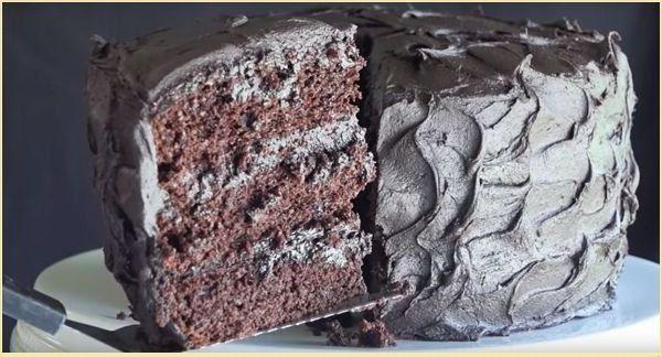 Рецепт торта шоколадного