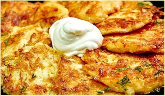 Драники из картофеля рецепт