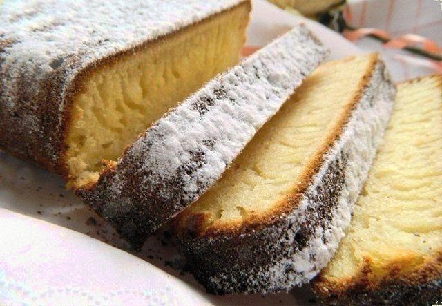 Рецепт кекса на сливках