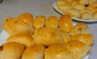 пирожки с капустой в духовке пошаговый рецепт