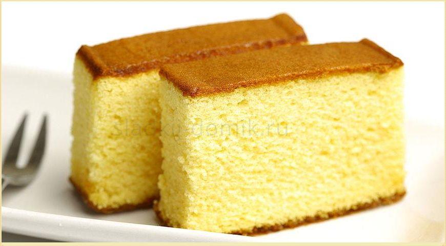 Рецепт бисквита классического