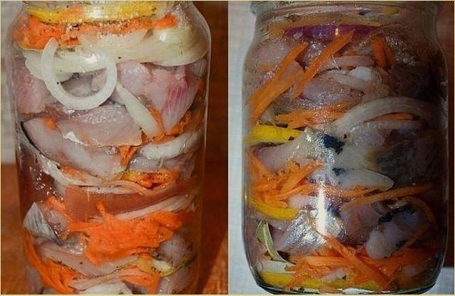 Рецепт маринада для сельди