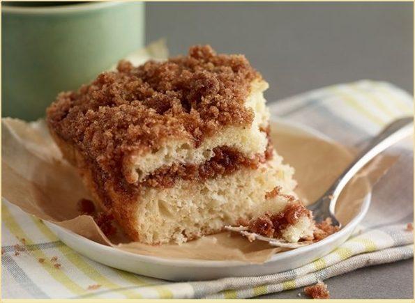 Рецепт пирожного с глазурью