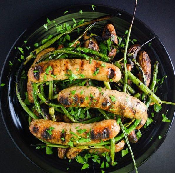 куриные колбаски как приготовить