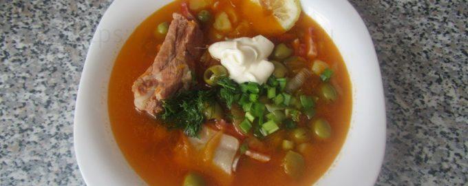Суп солянка классическая рецепт