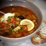 Суп солянка – классическая
