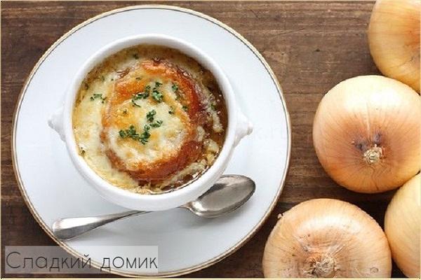 Французский луковый суп - рецепт