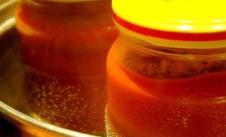 Домашний кетчуп - закатываем банки и убираем