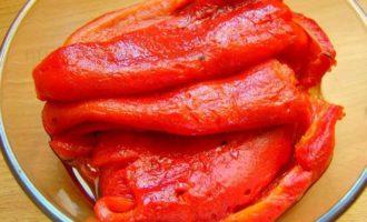 Домашний кетчуп - перцы фото