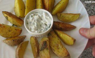 картошка по деревенски в духовке пошагово
